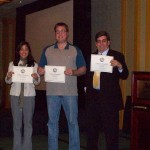 Nancy, Tommy & Alex International Speech Contestants